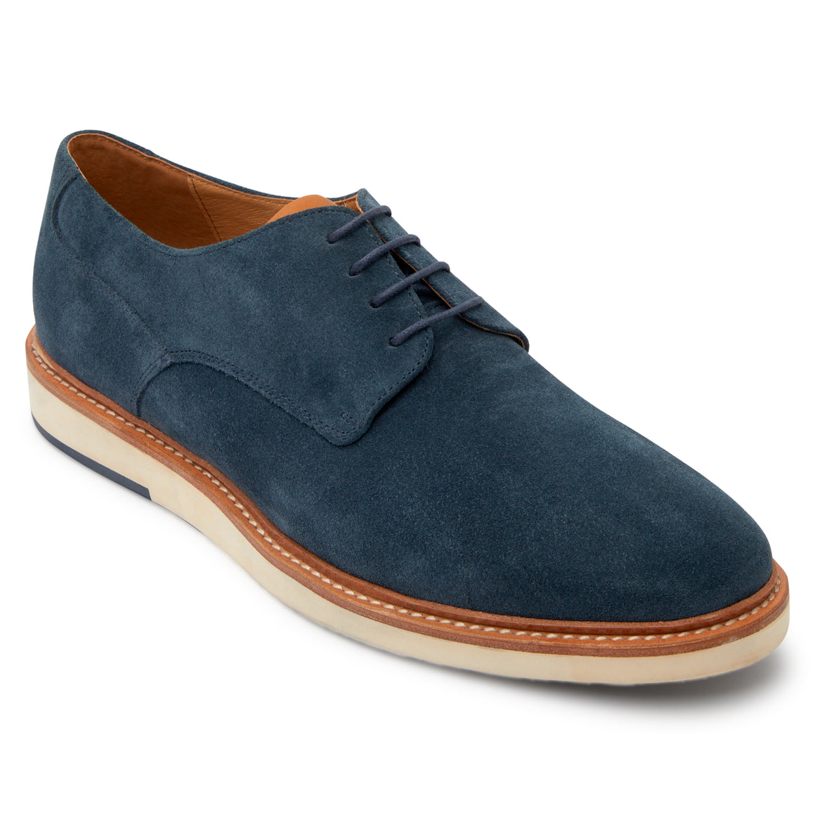 Saville Navy Derby Shoes
