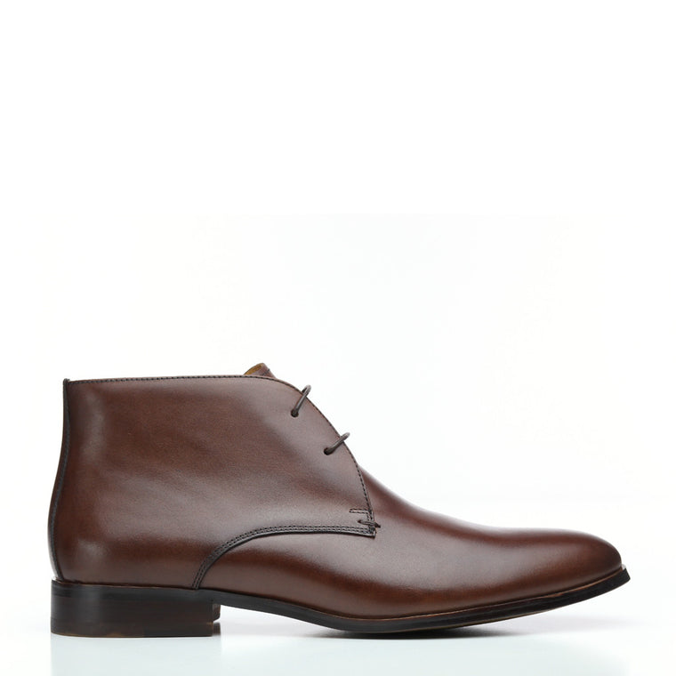 Batsanis Kane Brown Mens Leather Boot