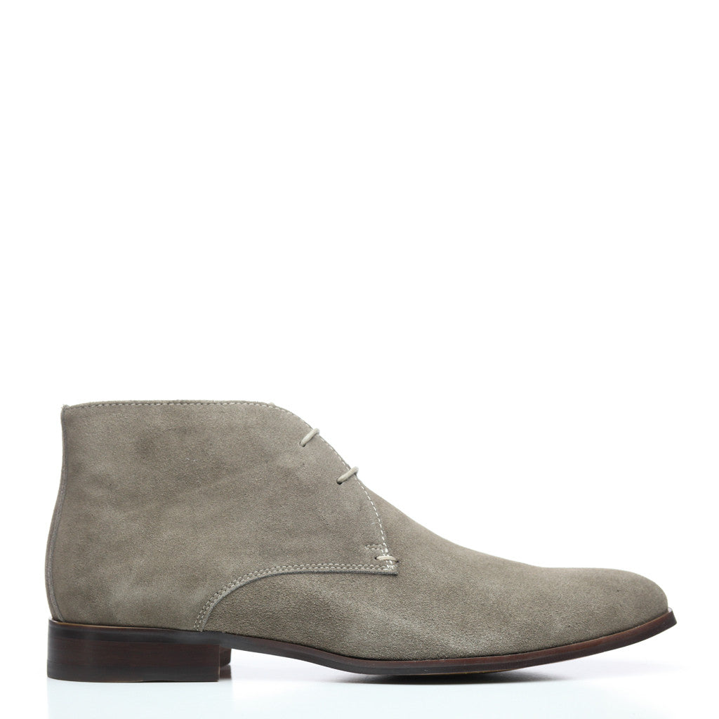 Batsanis Kane Marron Suede Mens Leather Boot