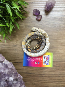 Spiralocks Original Bendable Dreadlock Hair Tie - 50cm - Pebbles