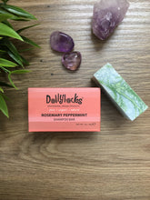 Load image into Gallery viewer, Dollylocks Rosemary Peppermint Travel Size Shampoo Bar