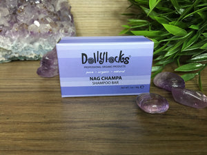 Dollylocks Nag Champa Travel Size Shampoo Bar