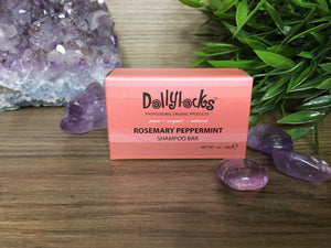 Travel Size Dollylocks Shampoo Bar (35g)