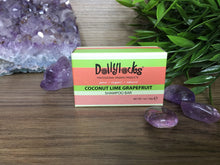 Load image into Gallery viewer, Dollylocks Coconut Lime Travel Sized Shampoo Bar
