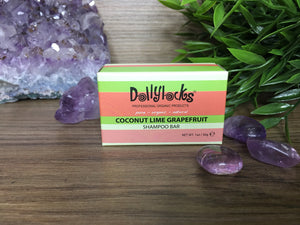 Dollylocks Coconut Lime Travel Sized Shampoo Bar