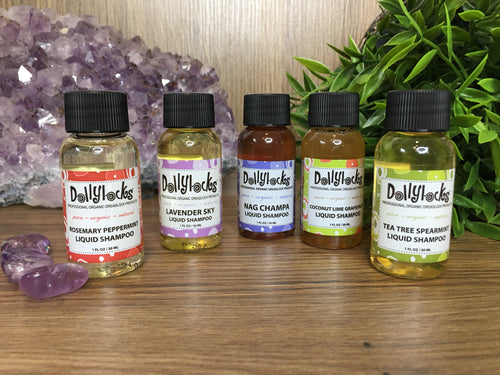 Travel Size Dollylocks Liquid Shampoo (30ml)