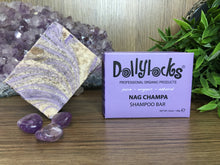 Load image into Gallery viewer, Nag Champa Dollylocks Shampoo Bar (127g)