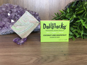 Coconut Lime Grapefruit Dollylocks Shampoo Bar (127g)