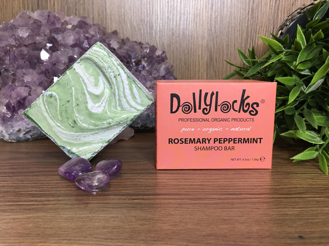 Rosemary Peppermint Dollylocks Shampoo Bar (127g)
