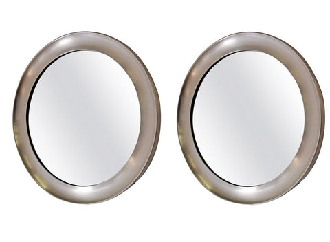 Pair of Narciso Mirrors by Sergio Mazza for Artemide 1950