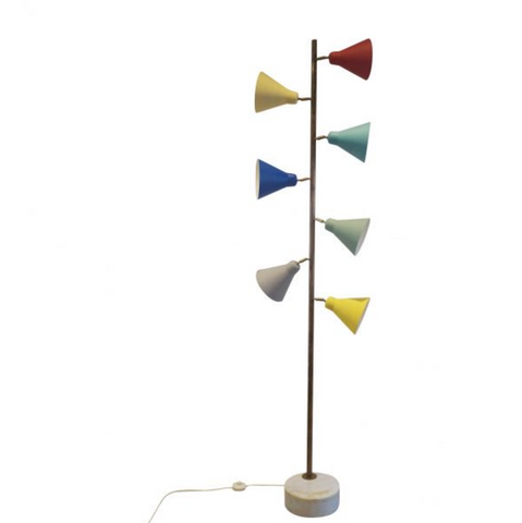 Italian Floor Lamp in the style of Stilux, Milano