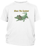 Youth Short Sleeve T-shirt with Alligator Imprint
