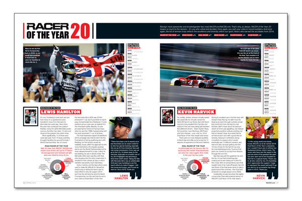 RACER Number 267: The 2015 Preview Issue