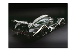 Bentley Speed 8 Rear View Archival Canvas and Photograph Limited Edition Print