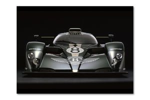 Bentley Speed 8 Front View Archival Canvas and Photograph Limited Edition Print