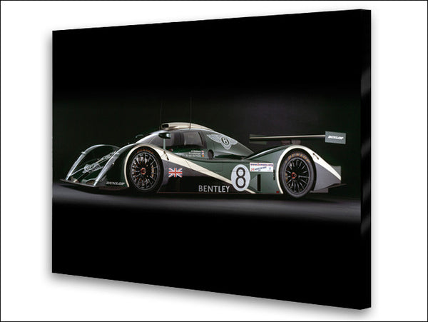 Bentley Speed 8 Side View Archival Canvas and Photograph Limited Edition Print