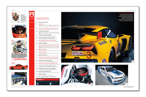 RACER Number 258: The Chevrolet Racing Issue