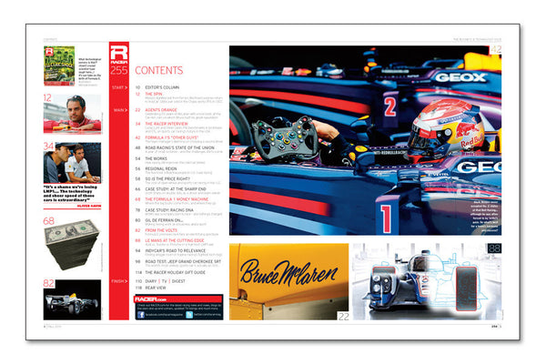 RACER Number 255: The Business and Technology Issue