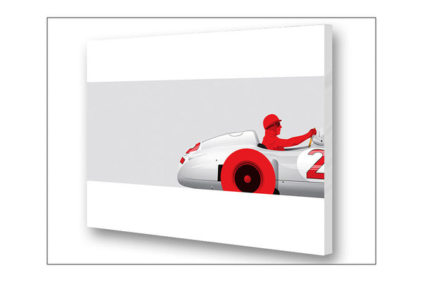 Ricardo Santos Fangio Archival Canvas and Paper Limited Edition Print