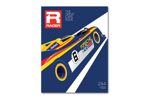 RACER Issue 244 Cover Poster