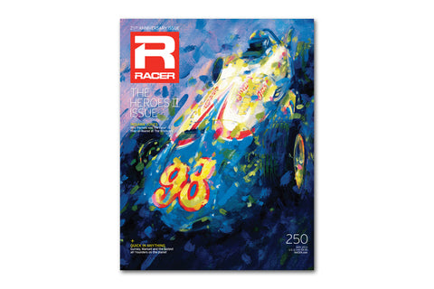RACER Issue 250 Cover Poster