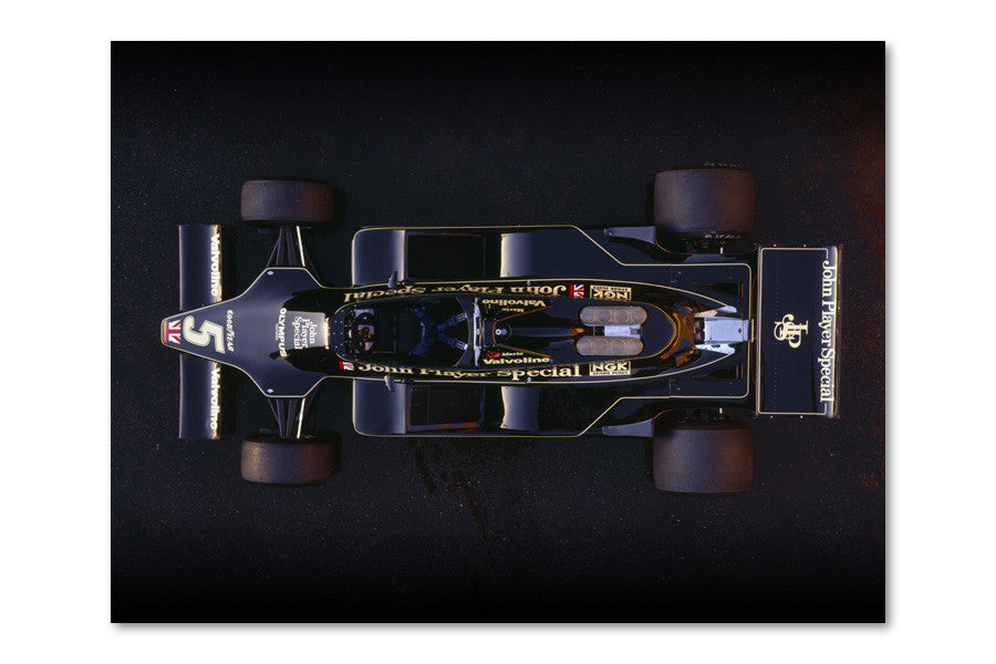 Lotus 79 Ford Top Archival Canvas and Photograph Limited Edition Print