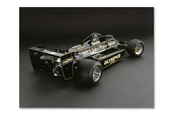 Lotus 79 Ford Rear Archival Canvas and Photograph Limited Edition Print