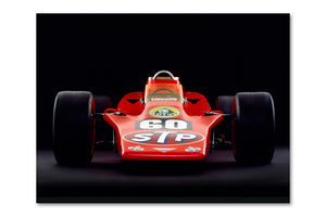 Lotus 56 Turbine Front Archival Canvas and Photograph Limited Edition Print
