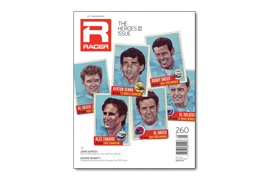 RACER Number 260: The Heroes III Issue