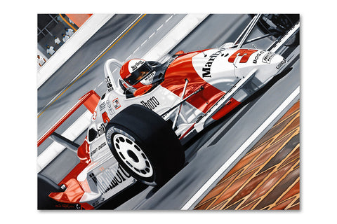 Rick Mears Penske-Chevrolet Archival Canvas Limited Edition Print