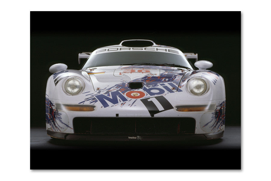 Porsche 911 GT-1 Front Archival Canvas and Photograph Limited Edition Print