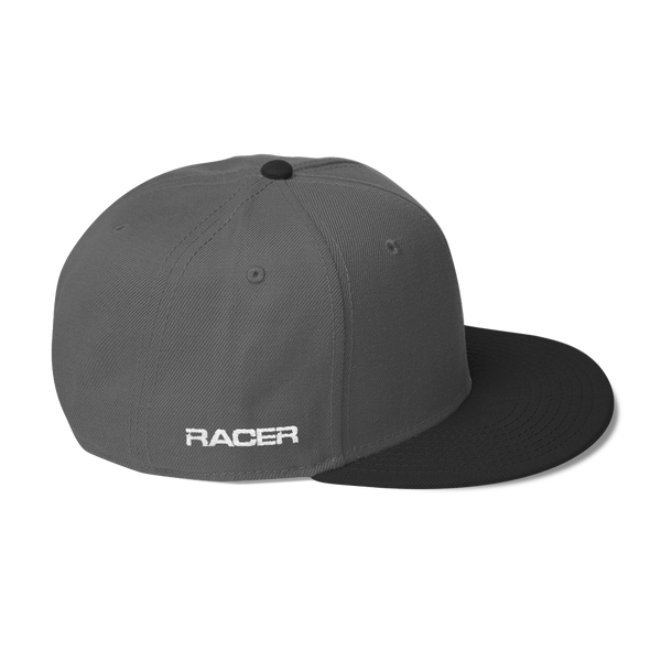 "RACER Round ""R"" Logo Wool Blend Snapback - 7 colors"
