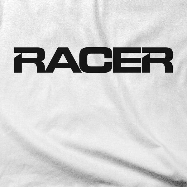 RACER Horizontal Black Logo - Short Sleeve T-Shirt