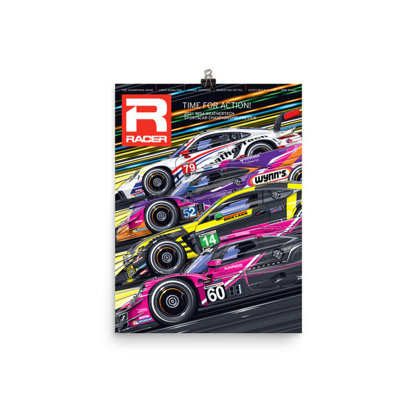 Racer Issue 308 Cover Poster