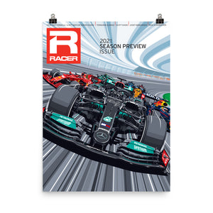 Racer Issue 309 Cover Poster