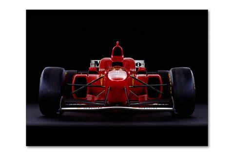 Ferrari F310 Front Archival Canvas and Photograph Limited Edition Print
