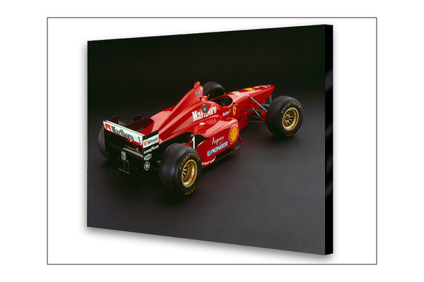 Ferrari F310 Rear Archival Canvas and Photograph Limited Edition Print