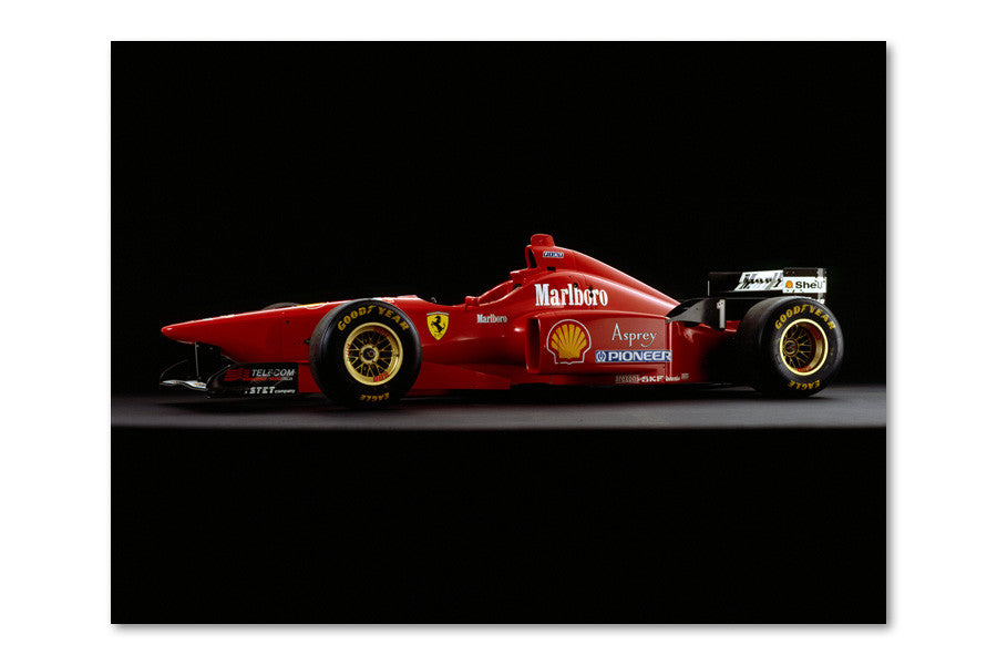Ferrari F310 Side Archival Canvas and Photograph Limited Edition Print