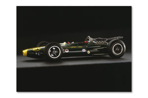 Lotus 34 Ford Side Archival Canvas and Photograph Limited Edition Print