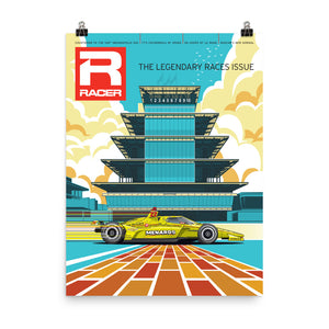 Racer Issue 305 Cover Poster