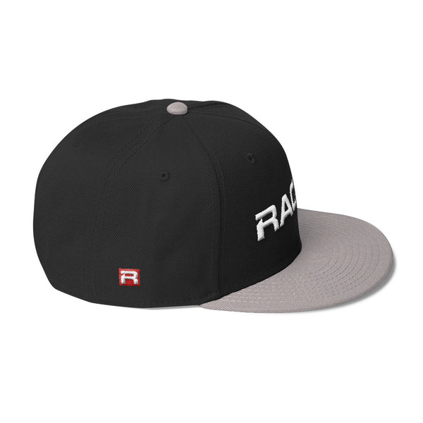 RACER Horizontal White Logo Wool Blend Snapback - 7 colors