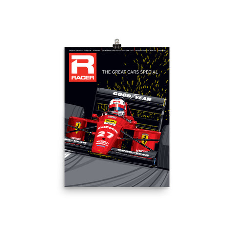 Racer Issue 306 Cover Poster