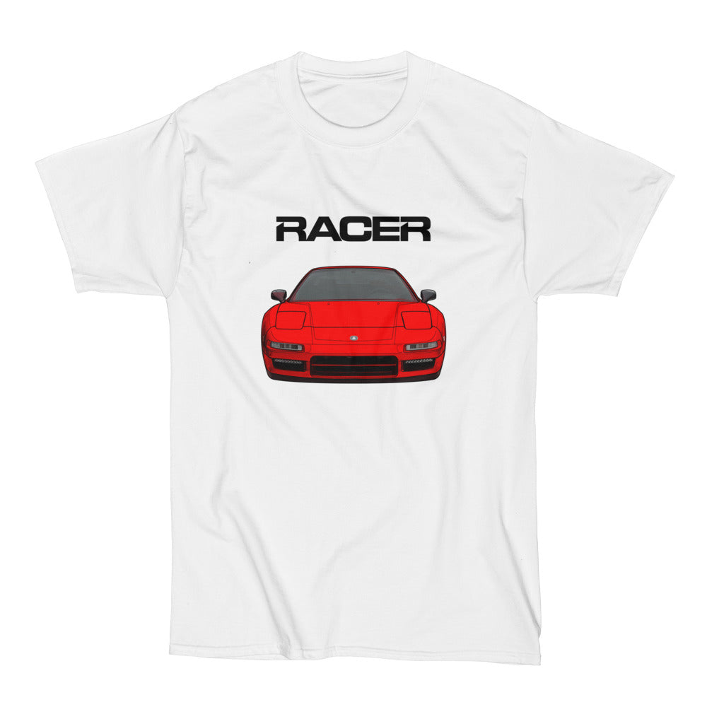 Acura NSX Illustrated - White Short Sleeve Hanes Beefy-T