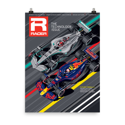 Racer Issue 307 Cover Poster