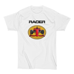 2018 Indy Car Illustrated White Hanes Beefy-T