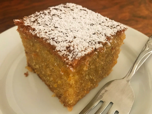 {Orange} Olive Oil Cake with Cinnamon | Bream Family Farms