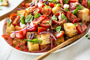 Bread Salad! (Panzanella) Oh yes