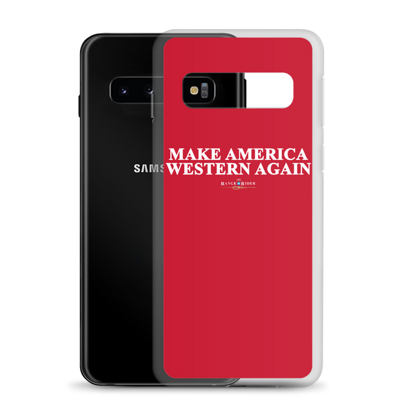 Make America Western Again™️ Samsung Case