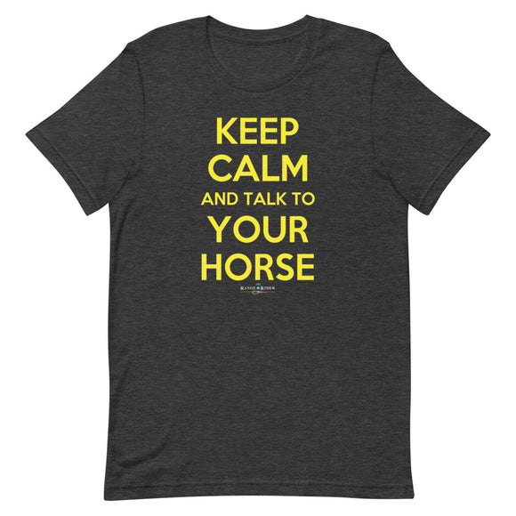 Keep Calm! {Equine Edition}