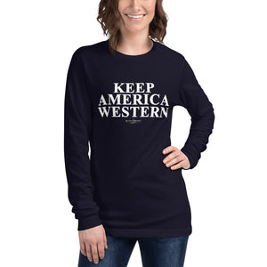 Keep America Western™️ Long Sleeve Tee